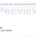 Advent 1b – November 30, 2014